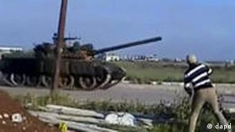 Syrische Truppen stürmen Widerstandshochburg Daraa