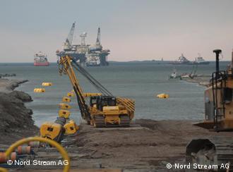 Строительство газопровода Nord Stream