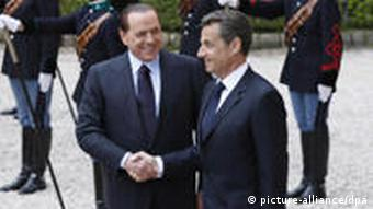 Berlusconi and Sarkozy