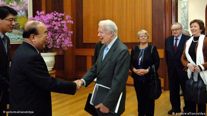 Jimmy Carter Nordkorea Korea Flash-Galerie