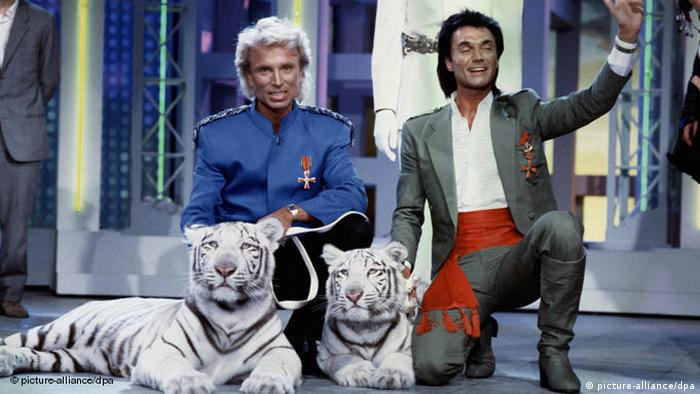 Siegfried and Roy magicians Entertainment Flash-Galerie (picture-alliance/dpa)