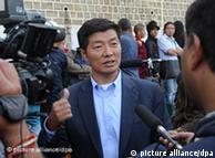 西藏流亡政府领导人洛桑森格(资料图片)