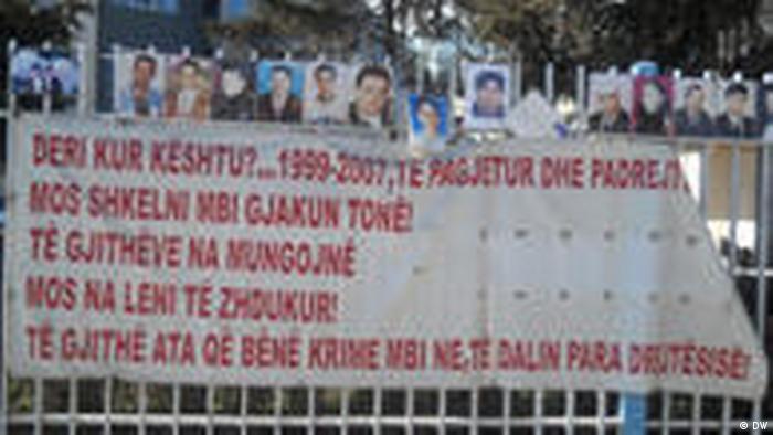 Kosovo Vermisste Personen (DW)