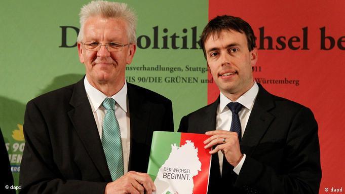 Зелено-красная премьера: Кречман и его социал-демократический партнер