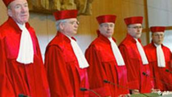 Judges at the Federal Constitutional Court