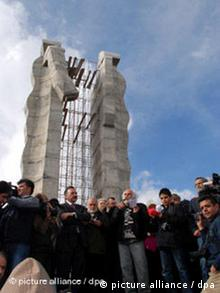 Türkei Denkmal Demontierung