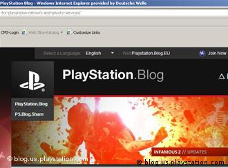 Screenshot Playstation Blog http://blog.us.playstation.com/2011/04/27/qa-1-for-playstation-network-and-qriocity-services/