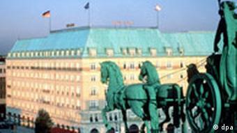 Hotel Adlon und Quadriga