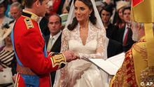 Kate und William Hochzeit 29.04.2011