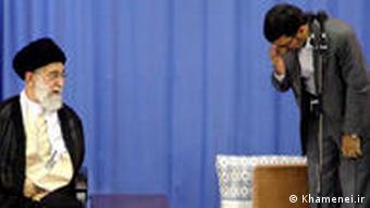 Ali Khamenei und Mahmud Ahmadinedschad
