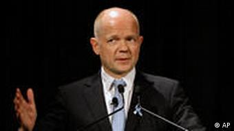 William Hague Außenminister Großbritannien