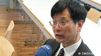Professor Yu Keping in Duisburg