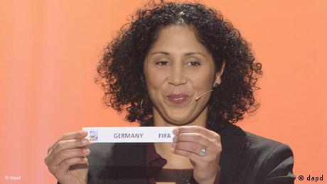 Steffi Jones Fußball Deutschland FIFA Flash-Galerie