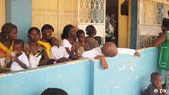 Guinea Bissau Afrika Krankenhaus