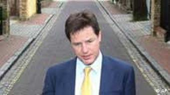 Nick Clegg / Liberaldemokraten / London