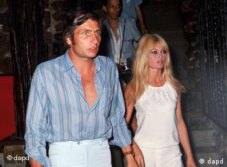 Gunter Sachs and Brigitte Bardot