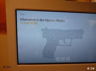 IT-Sicherheitskongress in Bonn / Bad Godesberg. 22 Unternehmen stellen ihre Sicherheitsdienste vor Foto: Matthias von Hein, DW. 10.5.2011