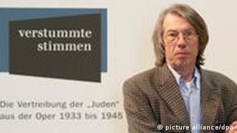 Historian Hannes Heer Photo: Soeren Stache dpa/lbn