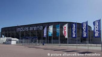 Klimaneutral: Stadion in Augsburg