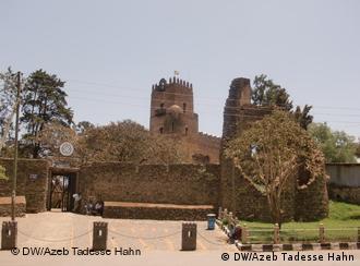 Fasil Schloss Gonder Äthiopien