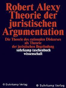 Buch Buchcover Cover Robert Alexy Theorie der juristischen Argumentaton