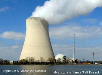 The Isar nuclear power plant
