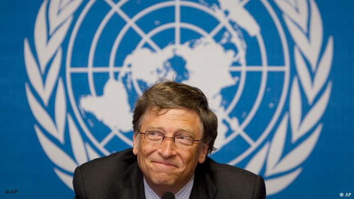 Bill Gates WHO UN Genf Schweiz Flash-Galerie (AP)