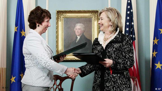 EU USA Hillary Clinton Catherine Ashton Washington Flash-Galerie