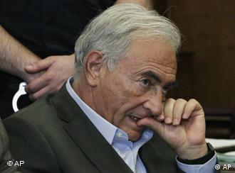 Dominique Strauss-Kahn, former manager of the International Monetary Fund, appears at a bail hearing in Criminal Court, Thursday, May 19, 2011 in New York. Strauss-Kahn faces charges he sexually assaulted a hotel maid. (AP Photo/Richard Drew, Pool)