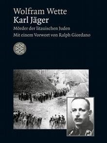 Cover of Wette's biography of Karl Jäger