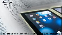 Symbolbild ipad Zeitung Zeitungen Nachrichten