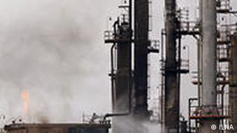 An Iranian oil refinery