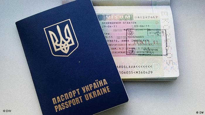 украинский биометрический паспорт