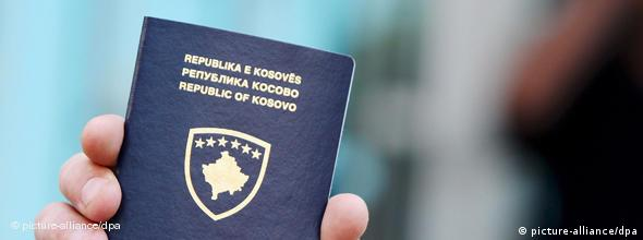 NO FLASH Kosovo Pass Passport Pristina Albanien