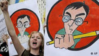 Реформи від міністра освіти Табачника викликають невдоволення серед студентів