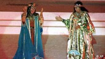 صحنهای از اپرای آیدا