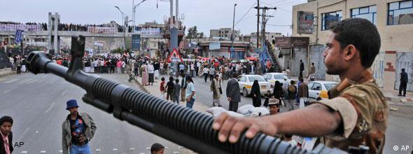 Jemenitischer Soldat (Foto: AP)