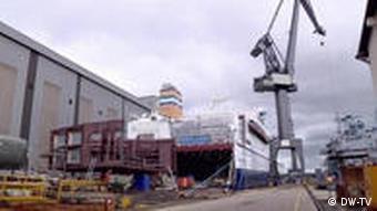 27.05.2011 DW-TV JOURNAL WIRTSCHAFT REPORTAGE Werft