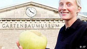 To jabłko nie odpowiada normom unijnym. Wyhodowano je w Turyngii.