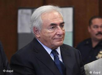 Dominique Strauss-Kahn in court in New York