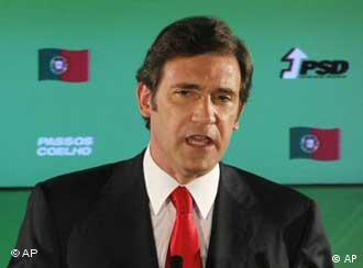 Премьер-министр Португалии Педру Пассуш-Коэлью