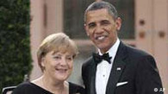 Merkel / Obama / Freiheitsmedaille