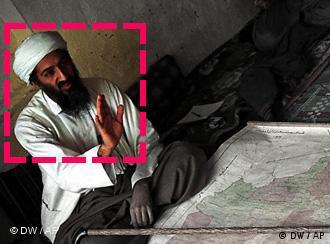 Bin Laden, antes de ser capturado