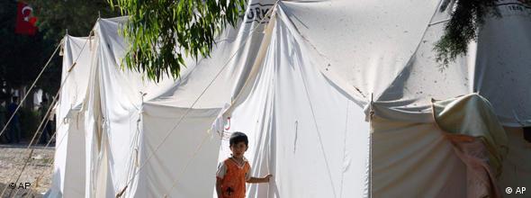 اردوگاه آوارگان سوری در ترکیه