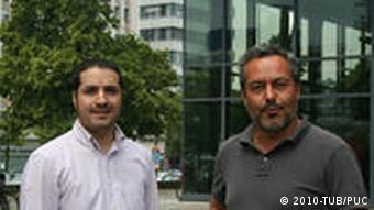 Francisco Prado und Renato D'Alencon Castrillón. Verantwortlichee der Kooperation