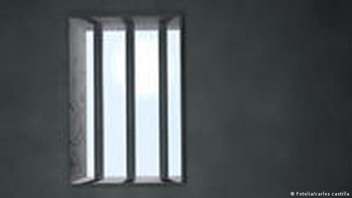 Foto simbólica de barrotes de una cárcel.