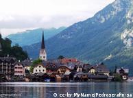 O pequeno e belo vilarejo de Hallstatt, na Áustria, que os chineses copiaram