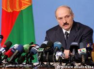Alexander Lukaschenko, presidente de Bielorrusia, tiene prohibido viajar a la Unión Europea.