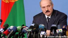 Weißrussland Belarus Staatschef Alexander Lukaschenko