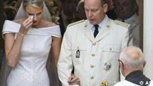 Hochzeit Albert II. und Charlene in Monaco
